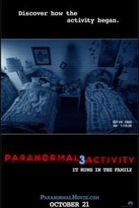 Caratula, cartel, poster o portada de Paranormal Activity 3