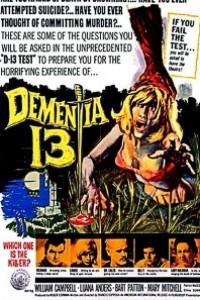 Caratula, cartel, poster o portada de Demencia 13