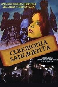 Caratula, cartel, poster o portada de Ceremonia sangrienta