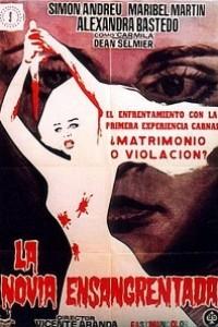 Caratula, cartel, poster o portada de La novia ensangrentada