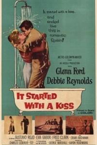 Caratula, cartel, poster o portada de Empezó con un beso