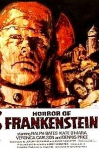 Caratula, cartel, poster o portada de El horror de Frankenstein