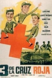 Caratula, cartel, poster o portada de Tres de la Cruz Roja
