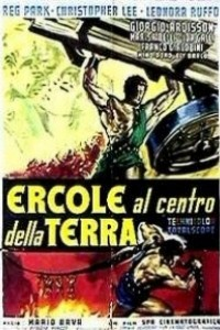 Caratula, cartel, poster o portada de Hércules en el centro de la Tierra