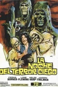 Caratula, cartel, poster o portada de La noche del terror ciego