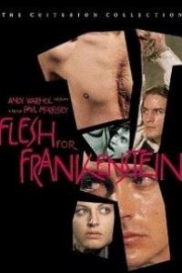 Caratula, cartel, poster o portada de Carne para Frankenstein