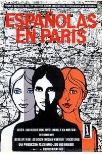 Caratula, cartel, poster o portada de Españolas en París