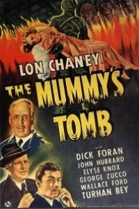 Caratula, cartel, poster o portada de La tumba de la momia