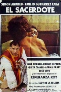 Caratula, cartel, poster o portada de El sacerdote