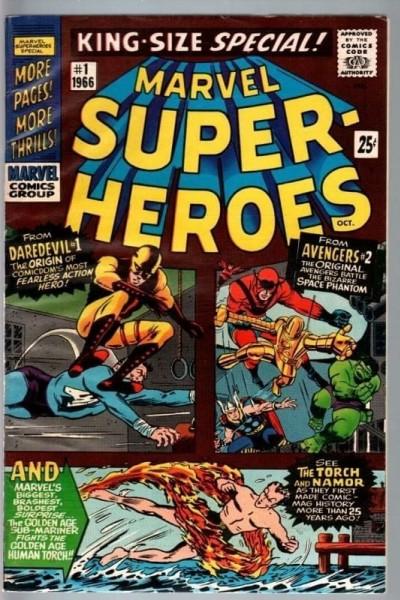 Caratula, cartel, poster o portada de The Marvel Superheroes