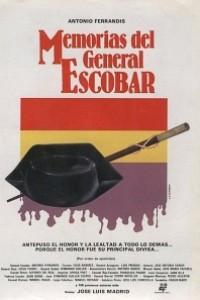 Caratula, cartel, poster o portada de Memorias del General Escobar