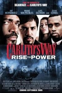 Caratula, cartel, poster o portada de Carlito\'s Way, ascenso al poder
