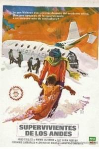Caratula, cartel, poster o portada de Supervivientes de los Andes