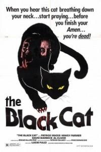 Caratula, cartel, poster o portada de El gato negro