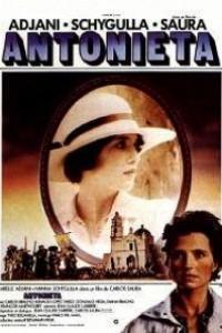 Caratula, cartel, poster o portada de Antonieta