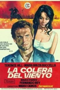 Caratula, cartel, poster o portada de La cólera del viento