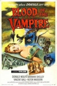 Caratula, cartel, poster o portada de La sangre del vampiro