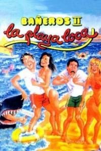 Caratula, cartel, poster o portada de Bañeros II, la playa loca