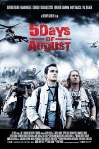 Caratula, cartel, poster o portada de 5 días de guerra