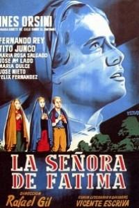 Caratula, cartel, poster o portada de La señora de Fátima