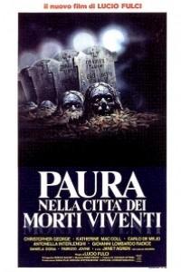 Caratula, cartel, poster o portada de Miedo en la ciudad de los muertos vivientes