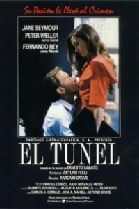 Caratula, cartel, poster o portada de El túnel