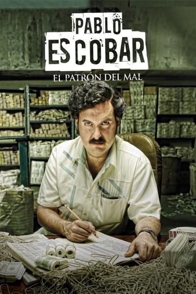 Caratula, cartel, poster o portada de Pablo Escobar, el patrón del mal