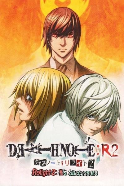 Caratula, cartel, poster o portada de Death Note Relight: Los sucesores de L