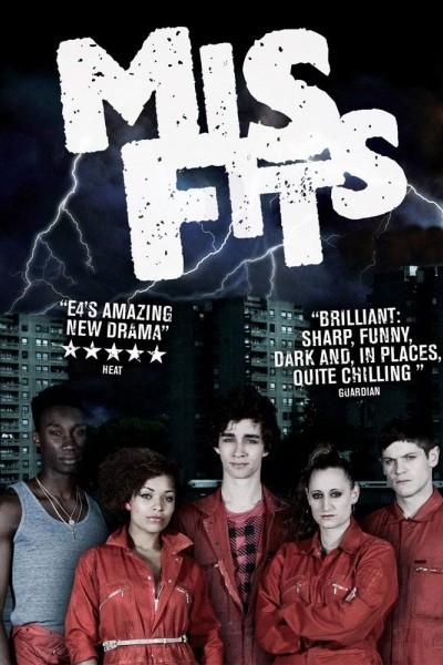 Caratula, cartel, poster o portada de Misfits (Inadaptados)