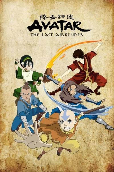 Caratula, cartel, poster o portada de Avatar: La leyenda de Aang