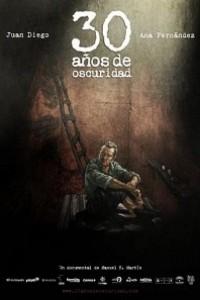Caratula, cartel, poster o portada de 30 años de oscuridad