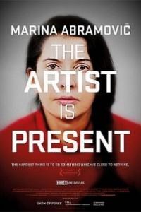 Caratula, cartel, poster o portada de Marina Abramovic: la artista está presente