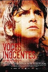 Caratula, cartel, poster o portada de Voces inocentes