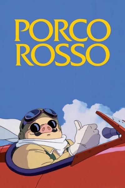 Caratula, cartel, poster o portada de Porco Rosso