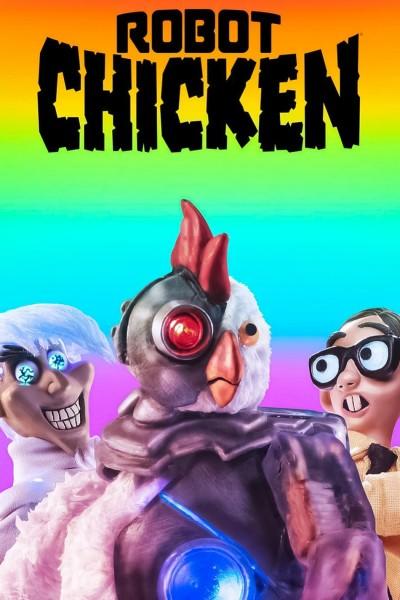 Caratula, cartel, poster o portada de Robot Chicken (Pollo Robot)