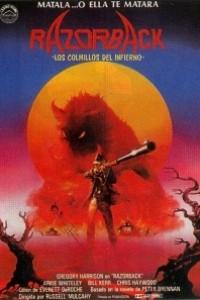 Caratula, cartel, poster o portada de Razorback: Los colmillos del infierno