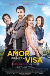 Caratula, cartel, poster o portada de Amor a primera visa