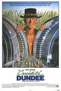 Caratula, cartel, poster o portada de Cocodrilo Dundee