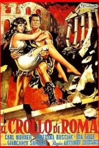 Caratula, cartel, poster o portada de La caída de Roma