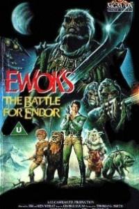 Caratula, cartel, poster o portada de La batalla del planeta de los Ewoks
