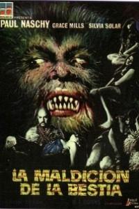 Caratula, cartel, poster o portada de La maldición de la bestia
