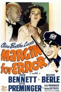 Caratula, cartel, poster o portada de Margen de error