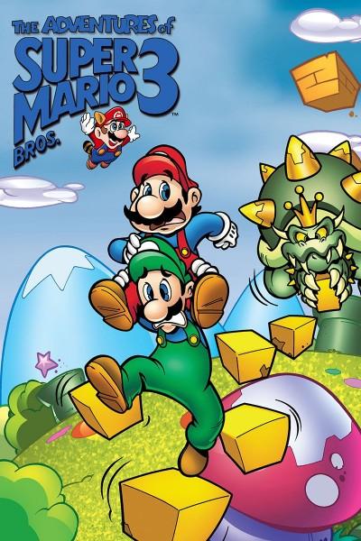 Caratula, cartel, poster o portada de Super Mario Bros. 3