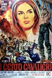 Caratula, cartel, poster o portada de Los cien caballeros