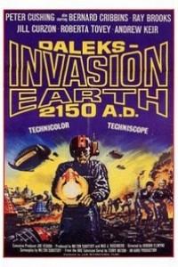 Caratula, cartel, poster o portada de Doctor Who: Los Daleks invaden la Tierra (Los marcianos invaden la Tierra)