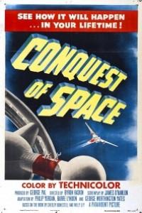 Caratula, cartel, poster o portada de La conquista del espacio