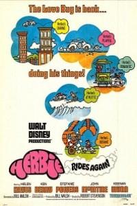 Caratula, cartel, poster o portada de Herbie, un volante loco