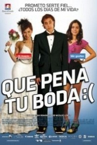 Caratula, cartel, poster o portada de Que pena tu boda