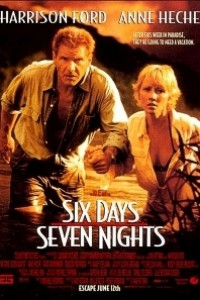 Caratula, cartel, poster o portada de Seis días y siete noches