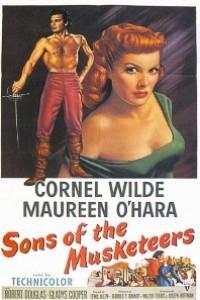 Caratula, cartel, poster o portada de Los hijos de los mosqueteros